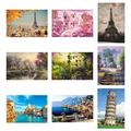 Yesbay 1000Pcs Adult Kid Puzzle Jigsaw Large Tower Building Decompression Game Toy Gift,Puzzle Toy 4#,4#