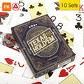 Three A Youpin Three A TEXAS HOLD'EM Playing Cards Poker Board Game Playing Cards Party Gathering Game Cards 56Pcs Cards