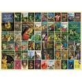 """1000 Pieces 26.625""""X19.25"""" Nancy Drew Jigsaw Puzzle, Nancy Drew, These special 1 000 piece puzzles by artist Shelley Davies celebrate color By Cobble Hill"""