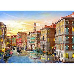 1000 Piece Puzzles for Adults and Kids - Romantic Venice Waters 1000 Pieces Puzzle - Challenging Puzzles 1000 Pieces Puzzle Gift