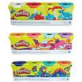 PD Play Doh Compound Bundle – Classic Colors 4 Pack + Wild Colors 4 Pack + Sweet Colors 4 Pack