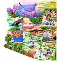 Southwest Travels 1000 pc Shaped Jigsaw Puzzle by SunsOut, Southwest Travels 1000 pc Shaped Jigsaw Puzzle by SunsOut By Visit the SUNSOUT INC Store