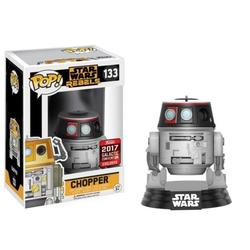 Pop Funko Star Wars Rebels Chopper #133 (2017 Star Wars Galactic Convention Exclusive), Star Wars Rebels #133 By Visit the Funko Store
