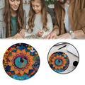 1000 Pieces Of Puzzle Multicolor Challenge 1000 Pieces Of Circular Puzzle
