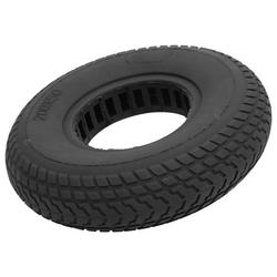 Mgaxyff Electric Scooter Tire 200x50mm Explosion-Proof Solid Tyre Hollow Out Damping Rubber Tire Electric Scooter Replacement Tyre