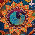 ANNA 1000 Pieces Of Puzzle Multicolor Challenge 1000 Pieces Of Circular Puzzle