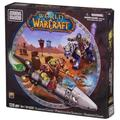 Mega Bloks World of Warcraft Barren Lands Chase, Buildable Horde X-53 Touring Rocket mount, with seats for two micro action figures. By Brand Mega Bloks