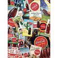Coca Cola Collage 1000 Piece Puzzle