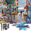 Jigsaw Puzzle 1000 Pieces for Adults, Water Resist Wooden Puzzle, VCOMO Thickened Puzzle, Floor Puzzles, 29.5?x19.7?