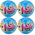 4 Pack - L.O.L. Surprise! Boys Series 2 Doll with 7 Surprises - LOL Surprise Boys Series 2