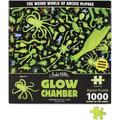 GLOW CHAMBER PUZZLE 1000 Piece Glow in The Dark Jigsaw Puzzle - Archie McPhee