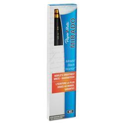 Paper Mate Mirado Black Warrior Woodcase Pencils, #2, HB, Pack of 24