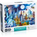 """Windfall 1000 Piece Jigsaw Puzzle: Statue of Liberty, Best Gift for Kids and Families, Puzzle Play Brain Teasers Puzzles - Larger 29.5"""" by 19.6"""""""