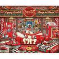 Springbok Puzzles - Coca Cola Decades - 1000 Piece Jigsaw Puzzle