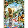 Jungle Lake 1000 Piece Puzzle, Wildlife by LPF Limited