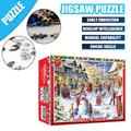 MAYNOS 1000 PCS Puzzles for Adult Kids DIY Space Puzzles Jigsaw Puzzles for Adults,Large Puzzle Game Decompression Toys 27.5x19.7inch Family Puzzles for Kids