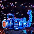 Bubble Machine for Kids and Adult - Gatling Bubble Machine,Automatic Bubble Machine with Music Sounds and Lighting,Electric Children's Bubble Gun Toy