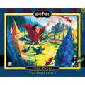 Harry Potter Quidditch - 1000 Piece Jigsaw Puzzle, Quidditch - Harry Potter Illustration by Artist Marie Grand-Pré By New York Puzzle Company