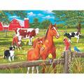 Spring Pasture, a 300-piece Puzzle by SunsOut