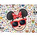Ceaco Disney Emoji Minnie Mouse Jigsaw Puzzle, 300 Pieces, Jigsaw puzzle featuring Minnie Mouse made by Ceaco By Brand Ceaco