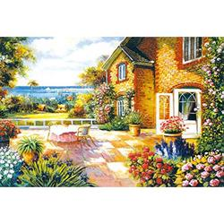 """Jigsaw Puzzles for Adults 1000 Piece,Picture Puzzle Gift,Funny Puzzle Game,1000 Piece Puzzles for Adults,Jigsaw Puzzles 1000 Pieces for Adults 27.6"""" x 19.7"""" (Mediterranean Style)"""
