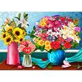 Jigsaw Puzzle Adult Puzzles Jigsaw Puzzles 1000 Pieces -1000 Piece Puzzle Jigsaw Puzzle - Bouquet Jigsaw Puzzle
