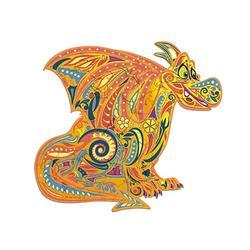 Wooden Jigsaw Puzzles, Unique Dragon Shape Jigsaw Pieces, Animal Shaped Jigsaw, High Difficulty Unmarked Jigsaw Puzzle Game Toys for Adults Kids Boys and Girls, Best for Family Game Play Collection
