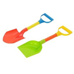 """Bseka 2pcs 12.5"""" Kids Snow Shovel Kids Beach Diggers Sand Scoop Shovels Plastic Shovel Toy for Outdoors Party Snow Play Beach Play"""