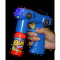 Fun Central (BC883) 1 pc 7 Inch Blue Car LED Bubble Gun, Bubble Machine Gun Set, Bubble Blower Guns for Kids