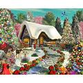 Snowy Delight Jigsaw Puzzle 1000 Puzzle