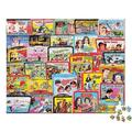 TV Lunch Boxes, a 1000-piece Puzzle by White Mountain