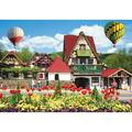 Hot Air Balloons Over Helena 1000 Piece Puzzle, Landscapes by LPF Limited