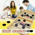 Slingshot Board Game Fast Sling Puck Game Family Board Games Slingshot Board Games for Adults and Kids Foosball Board Game Ice Hockey Table Game Chess Board Games Battle
