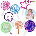 9PCS Bubble Wand Set Creative Fashion Funny Bubble Stick Toy Party Bubble Toy
