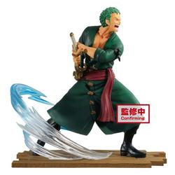 One Piece Log File Selection Zoro Collectible PVC Figure [Fight]