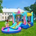 Ktaxon Inflatable Bounce House Kids Water Slide Jumper Castle w/ Blower
