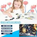 BLUKIDS 1000 Piece Large Jigsaw Puzzle for Adults - Planets in Space - 1000 pc Jigsaw Puzzle Game Interesting Toys - Hand Made Puzzles Personalized Gift