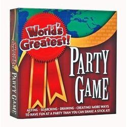 Worlds Greatest Party Game, Drawing Game,Charades Game,Scavenger Hunt , All Three Games Are Huge Fun For The Family, Ages 13 And Up
