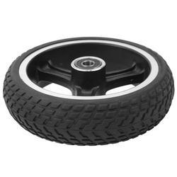 Mavis Laven Solid Rear Wheel,Electric Scooter Tire,6.5in Explosion‑proof Electric Scooter Wheel Anti‑Skid Tire Wheels Electric Scooter
