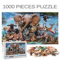 Veryke 1000 Piece Large Jigsaw Puzzle, Wildlife, Floor Puzzle for Teen Adult, Educational Decompressing Funny Family Intellectual Game, 27.5 x 19.6 inch