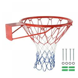 Balems 18 /15 inch Red Basketball Circle Heavy Replace Basketball Ring Indoor / Outdoor Sport Rquipment