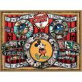 Ceaco 1500 Piece Disney Mickey and Minnie Mouse Movie Reel Jigsaw Puzzle, Kids and Adults, Jigsaw puzzle featuring classic Disney characters made.., By Brand Ceaco