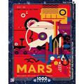 - NASA Visit Mars - 1000 Piece Jigsaw Puzzle, Visit Mars - NASA Space Travel Poster By New York Puzzle Company