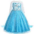 Halloween Costumes for Girls Snow Party Elsa Dress Queen Costume Princess Anna Girls Dress Up for 3-8T Girls