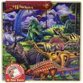 / Fun Facts 48-Piece Wood Puzzle, Dinosaur Friends, 48 piece wooden puzzle features durable pieces and beautiful artwork By MasterPieces