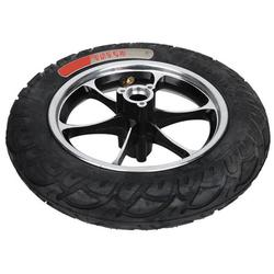 Kritne Non-slip Tire Electric Scooter Tire, E-Scooter Accessory 12in Tire Kit E-Scooter Tyre, Front Hub Tyre For Replacement E-Scooter Scooter Wheels Electric Scooter