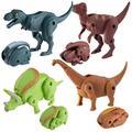 Tuscom Simulation Dinosaur Toy Model Deformed Dinosaur Egg Collection for Kids
