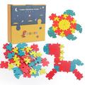Wooden Jigsaw Puzzles for Kids Age 3-6 Year Old, Children's Wooden Puzzle 3-6 Years Old Traffic Animal Numbers And Letters Puzzle Puzzle Toy 40 Pieces