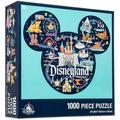 Disneyland Mickey Mouse Icon Disney Park Map Puzzle - 1000 Pieces
