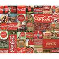 Puzzles Coca-Cola It's The Real Thing Jigsaw Puzzle (1000 Piece), 1000 Piece jigsaw puzzle, featuring a finished size of: 30 x 24 By Springbok